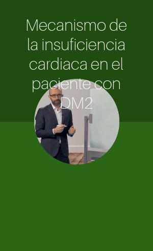 Mecanismo de la insuficiencia cardiaca en el paciente con DM2 (2018)