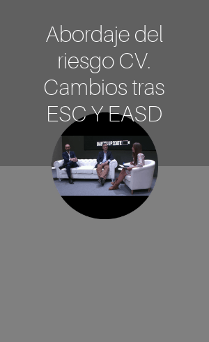 Abordaje del riesgo CV. Cambios tras ESC y EASD (2019)